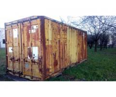 """Vendo container marittimo 20"""""""