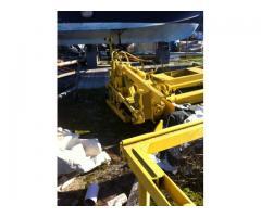 impianto blocchiera sacme con mescolatore e impianto travetti