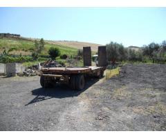 Carrellone tre assi Cometto T 38 ,rampe idrauliche ,PTT 252.00-