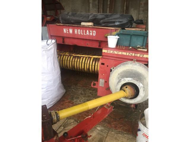 Imballatrice new Holland 376