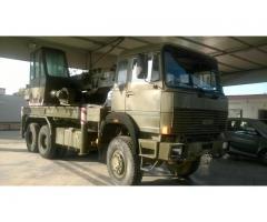 Auto soccorso fiat 260.35,con gru isoli 18 ton trazione 6x6